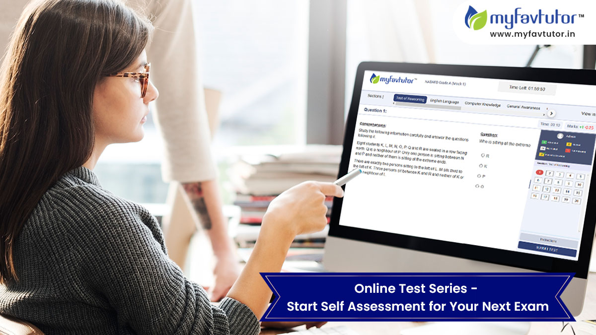 Online Test Series - Start Self Assessment for Your Next Exam