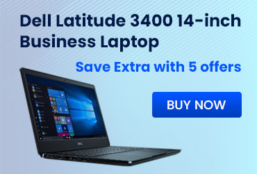 Dell Latitude 3400 14-inch Business Laptop