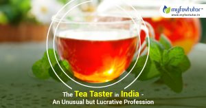The Tea Taster in India