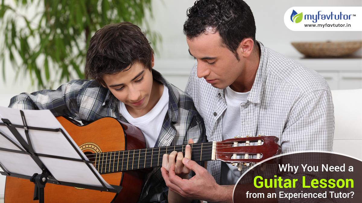 Experienced Guitar Tutor